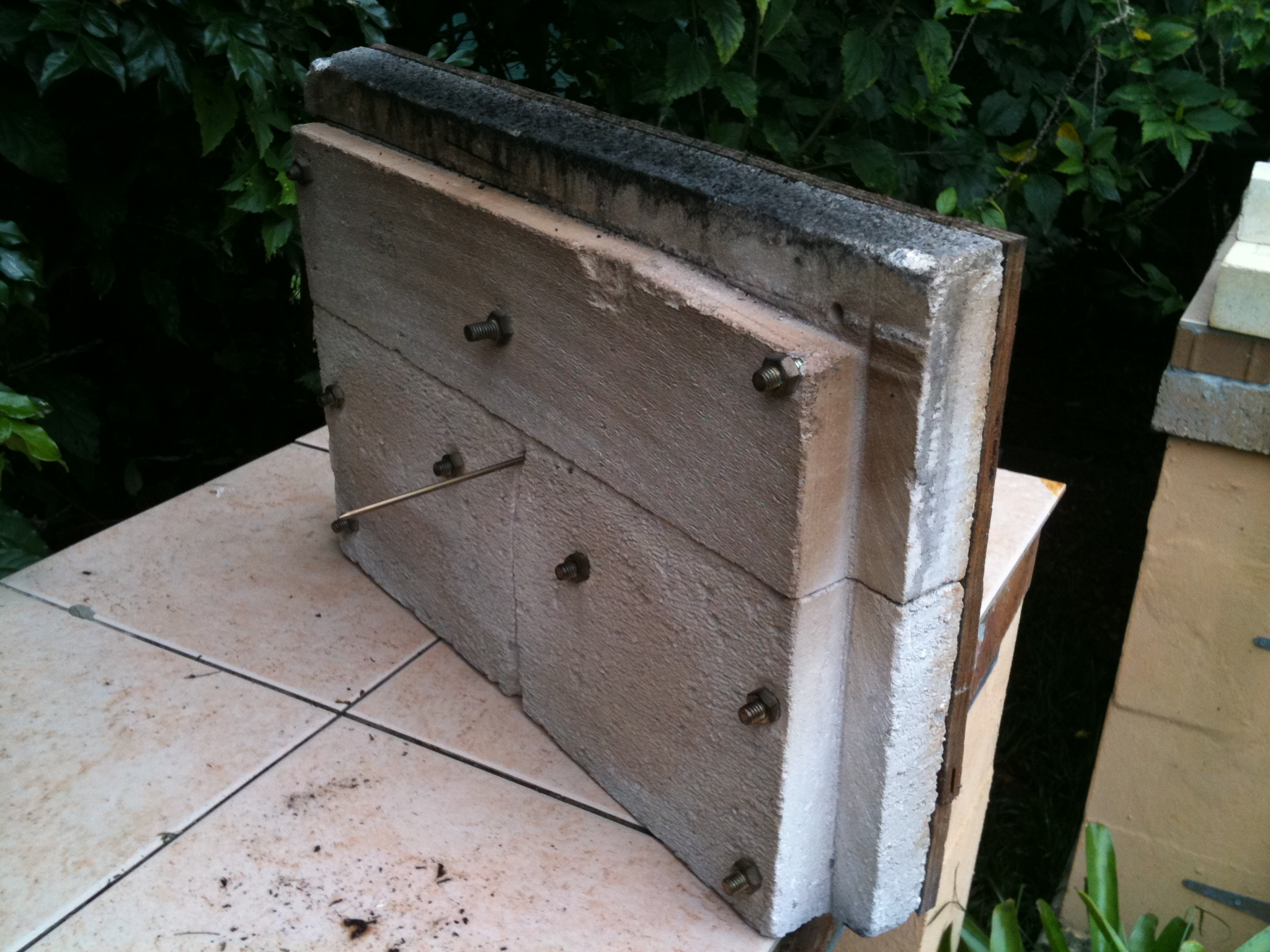 Using Insulating Firebrick For Oven Door Forno Bravo