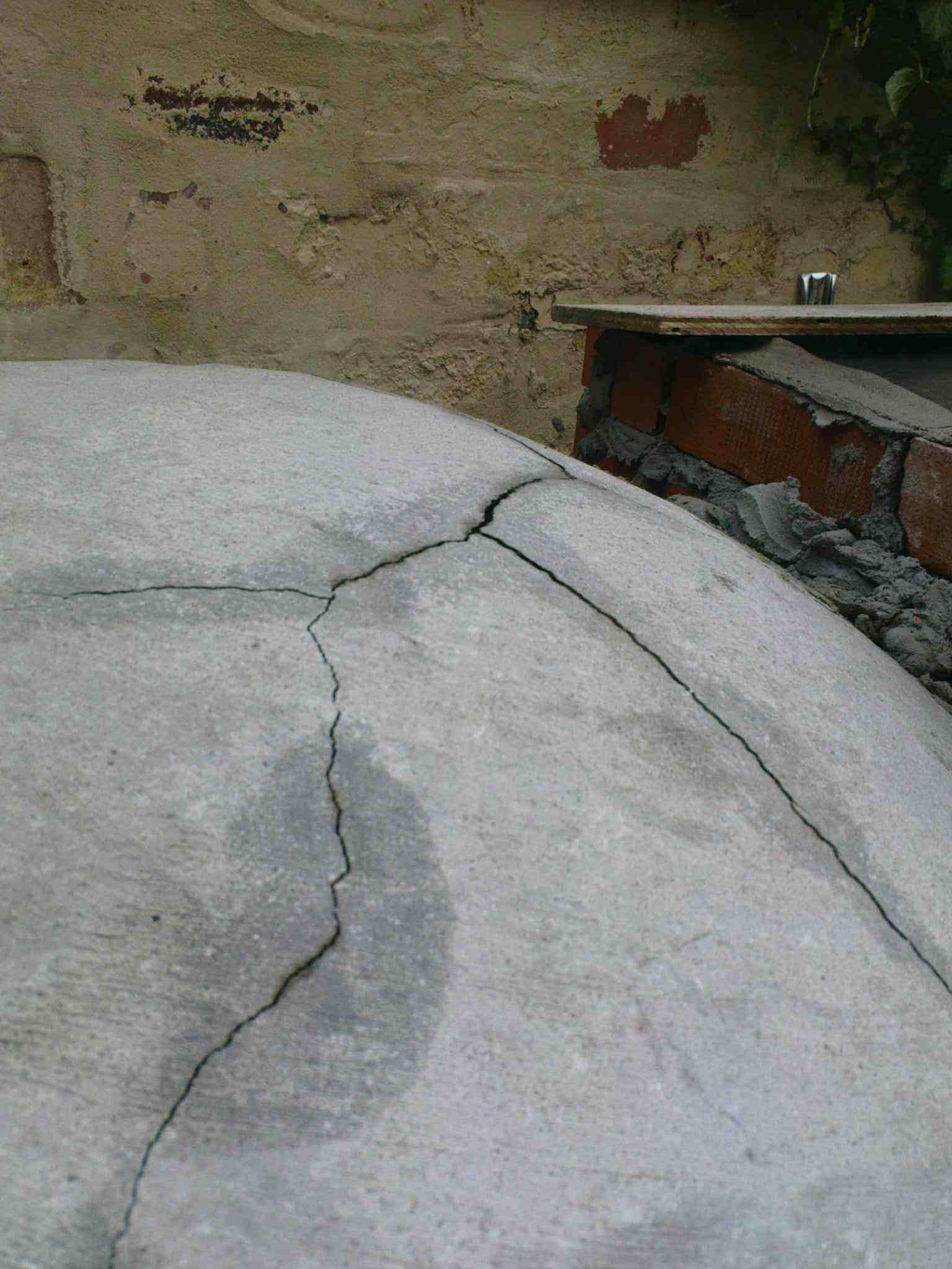 Help Cracks In Oven Forno Bravo Forum The Wood Fired