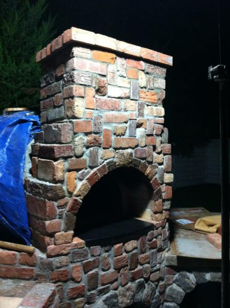 Chimney is done!